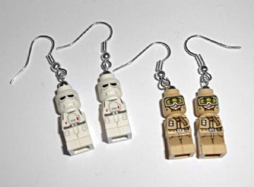 Star Wars Micro-figure Drop Earrings